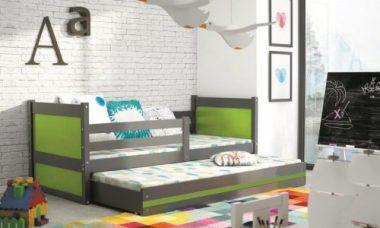 podwójne łóżko dla dzieci